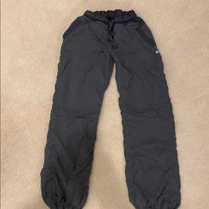 Lululemon womens drawstring grey pants